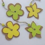 Holz Blüten