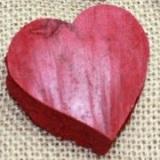 Naturmaterial - Herzen