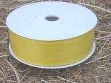 Deko Stoffband Gelb 4 cm
