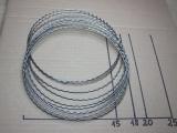 Kranzbindereifen gewellt 18 cm