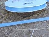 Deko Stoffband Hell Blau 0,8 cm