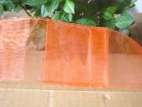 Organza Taschen Band 10 m x 7 cm gesäumt in Orange